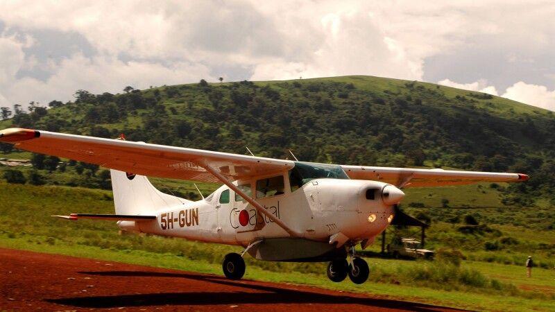 abhebende Cessna 206 © Diamir