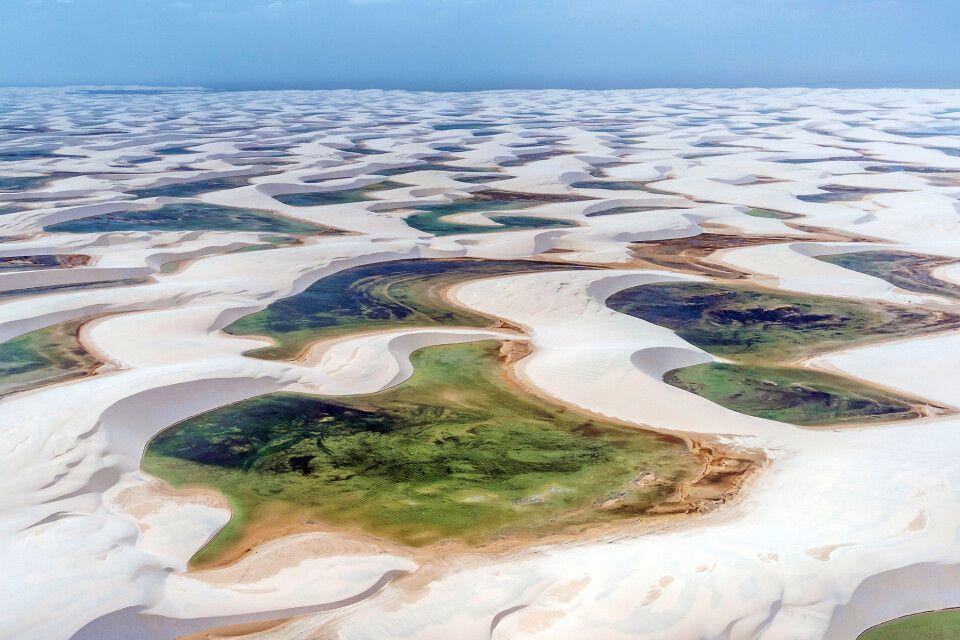 Lencois Maranhenses – Nationalpark, Imagem Aerea