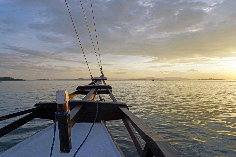 Mit dem Pinisi durch die Flores-See