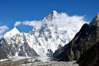 Blick hinüber zum majestätischen K2.