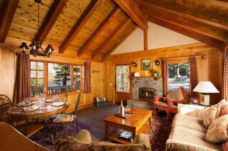 Tamarack Lodge 1 Bedroom Deluxe Cabin, Mammoth Lakes, Kalifornien