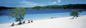 Fraser Island Lake McKenzie