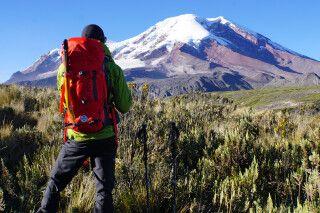 Es ist kaum möglich, den Blick vom Chimborazo abzuwenden