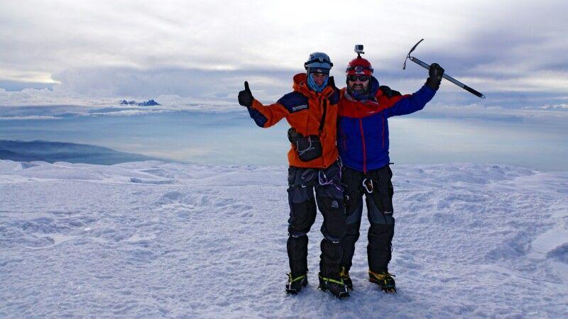 Auf dem Chimborazo – glücklich auf 6310 m! © Diamir