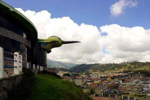 """Blick über Otavalo vom """"Balcon"""""""