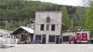 Einzigartige Bauwerke in Dawson City