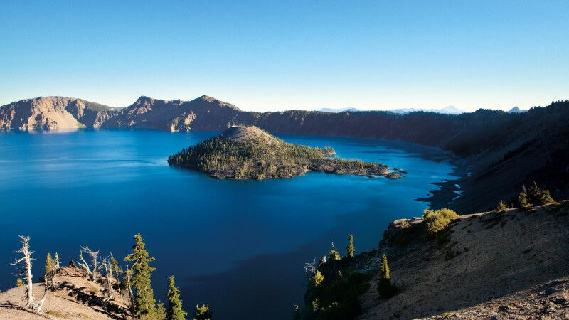 Crater Lake NP in Oregon © Diamir