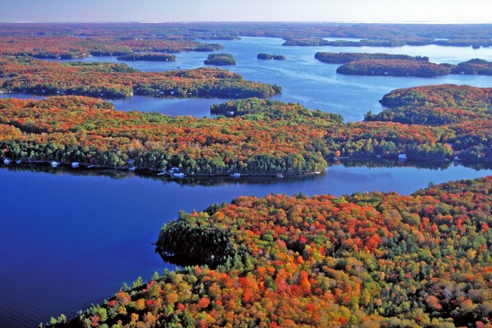 Indian Summer, Algonquin Park, Ontario
