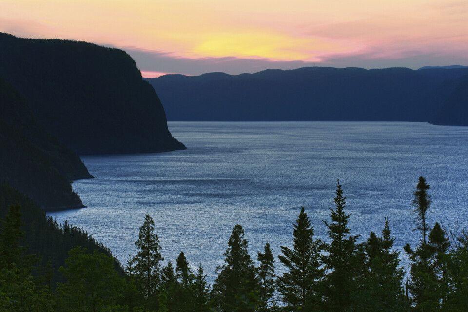 Abendstimmung am Saguenay