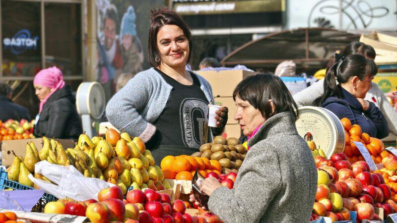 Markt in Irkutsk © Diamir