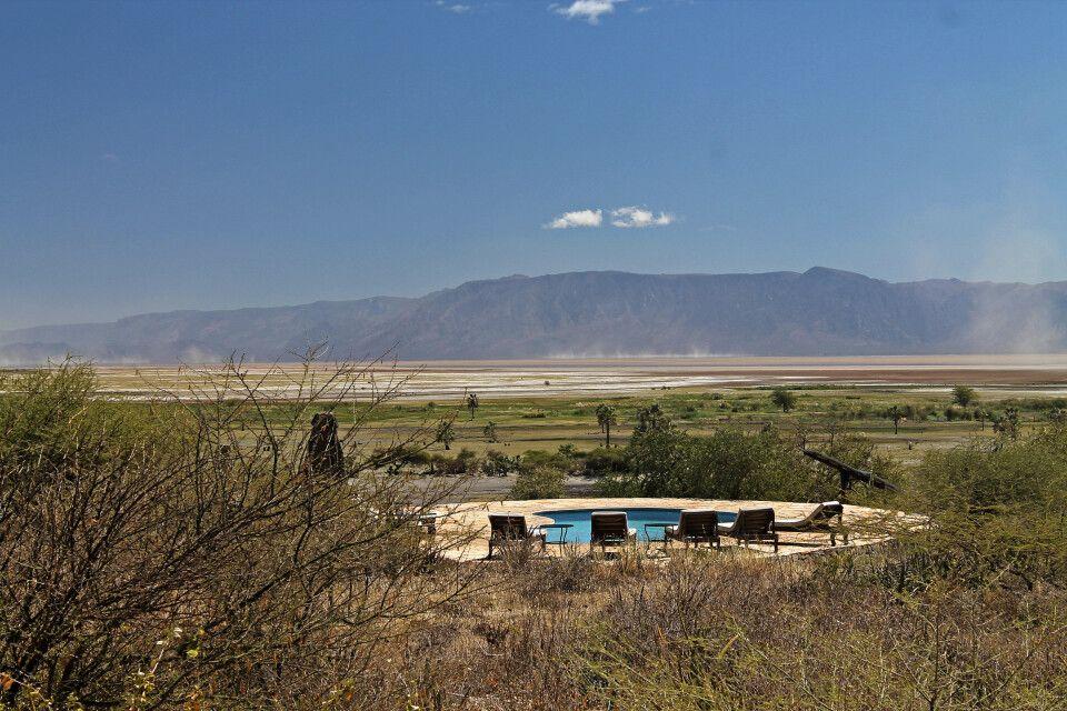 Pool der Lake Eyasi Safari Lodge