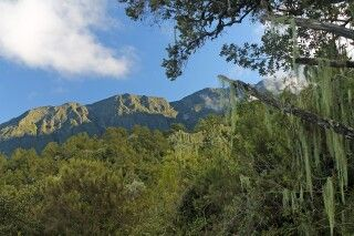 Landschaft am Mount Meru