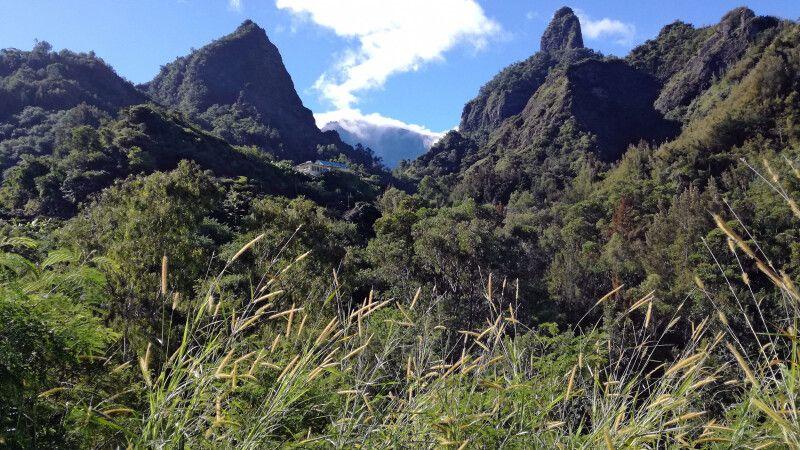 Bergszene auf der Route de Cilaos © Diamir