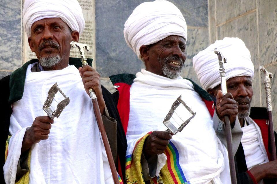 Timkat-Fest in Äthiopien