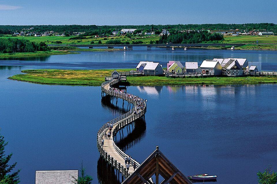 Le Pays de la Sagouine, New Brunswick
