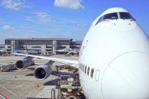 Lufthansa in Frankfurt