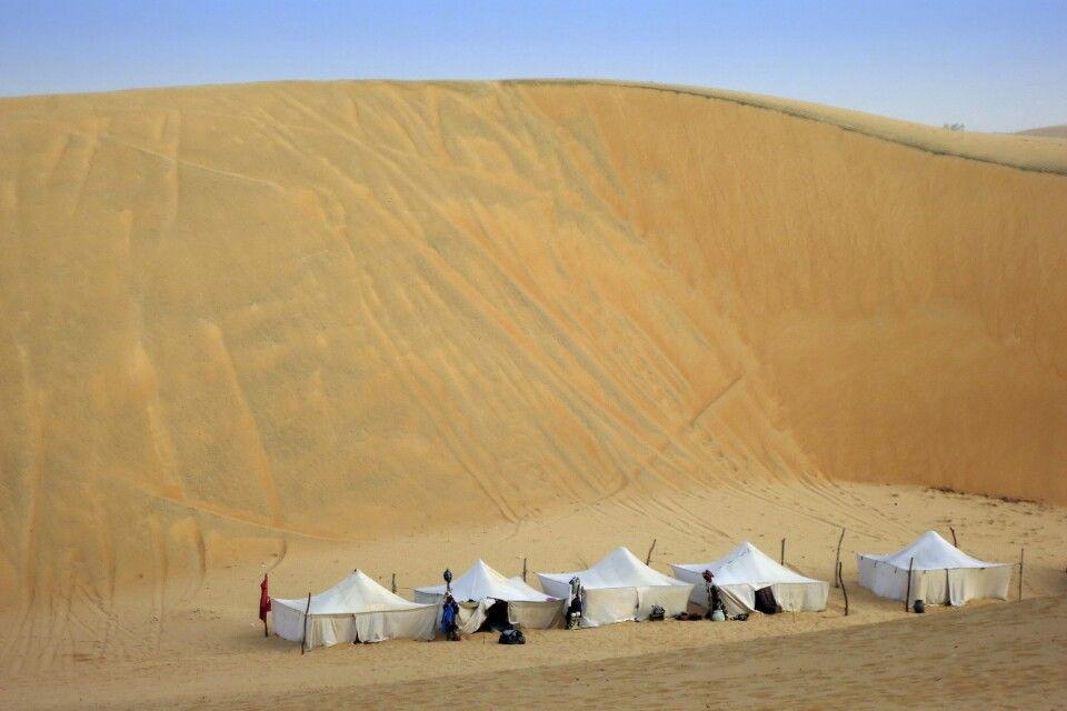 Zeltcamp in der Wüste Lompoul