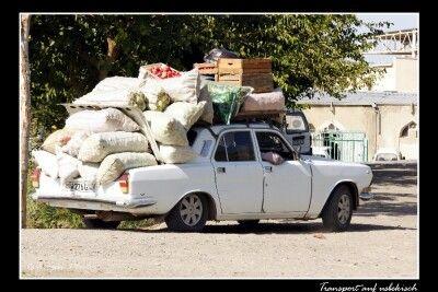 Transport auf Usbekisch