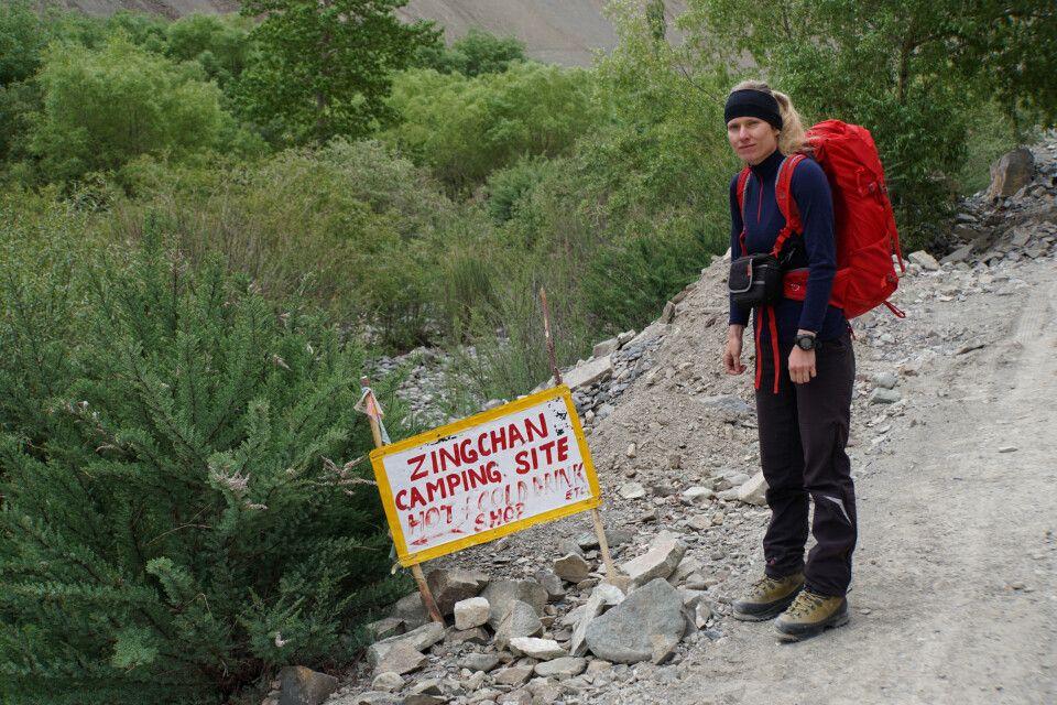 Erster Trekkingtag nach Zinchen (3350 m) geschafft