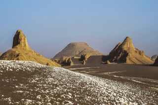 Wüste Dasht-e Lut - Felsformationen
