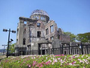 Historisches Mahnmahl - Die Atombombenkuppel in Hiroshima