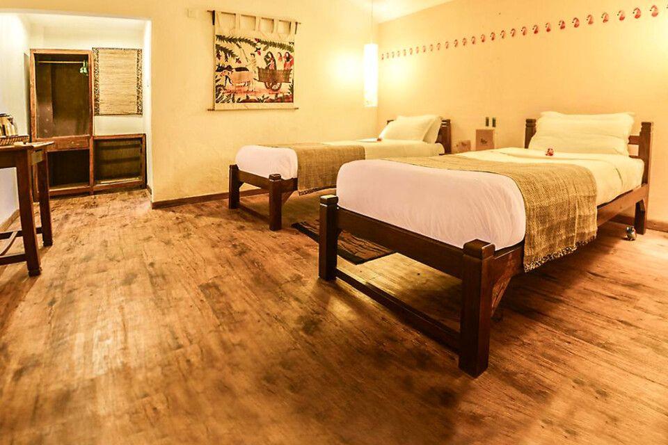 Doppelzimmer in der Machan Country Villa