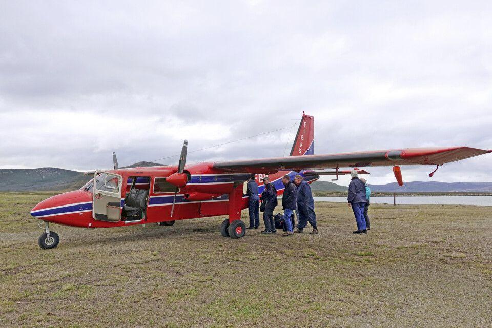 Unterwegs im Kleinflugzeug