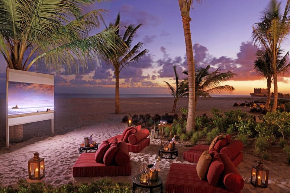 Al Baleed Resort Salalah By Anantara_Kino unterm Sternenhimmel