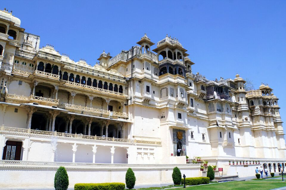 Stadtpalast in Udaipur
