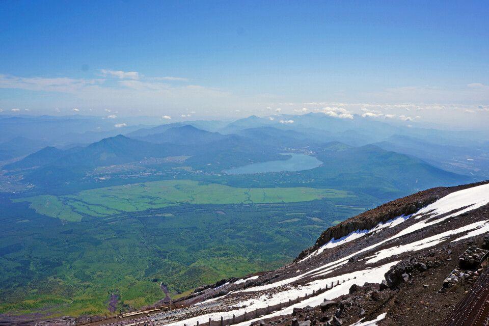 Blick vom Fuji-san