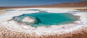 Die Lagunas Escondidas in der Atacama-Wüste