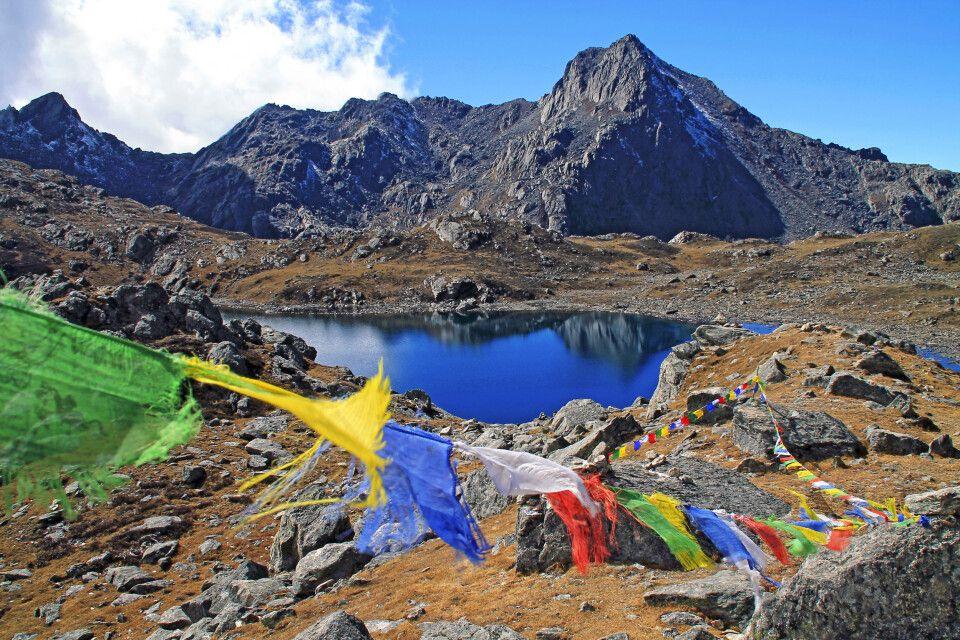 Auf dem Laurebina-Pass (4610m)