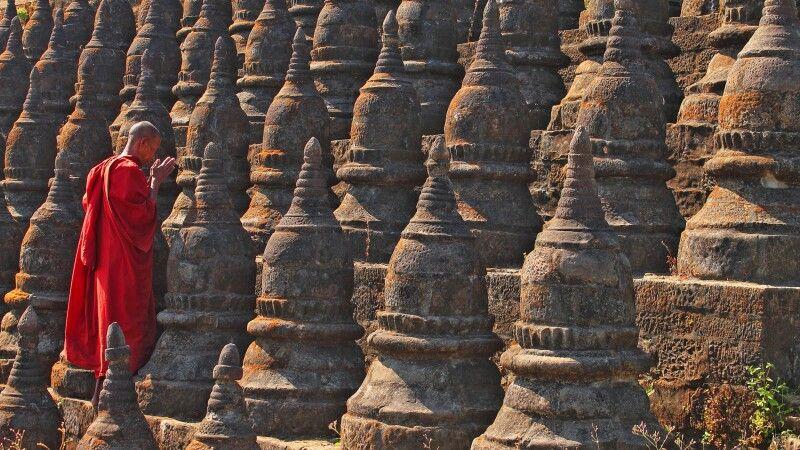 Die Tempel von Mrauk U © Diamir