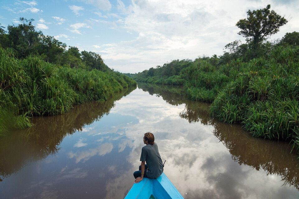 Flussfahrt im Tanjung-Puting-Nationalpark