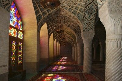 Rosenmoschee in Shiraz