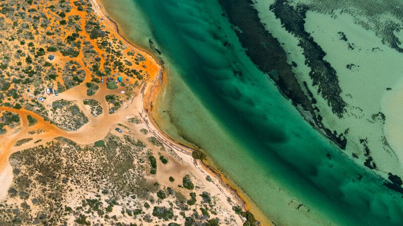 Blick in die Shark Bay World Heritage Area © Diamir