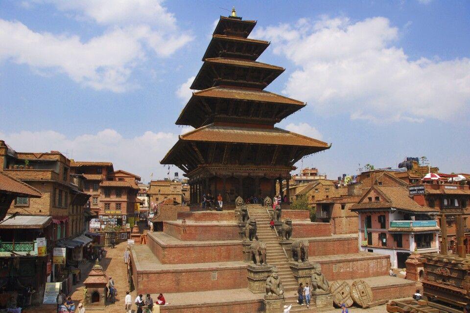 fünf-stöckige Pagode in Bhaktapur