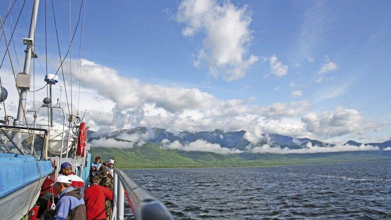 Bootsfahrt auf dem Baikal © Diamir