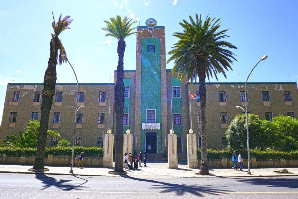 Rathaus von Asmara