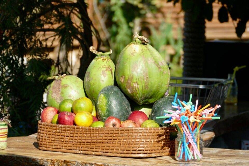 Frisches Obst aus der fruchtbaren Annapurna-Region