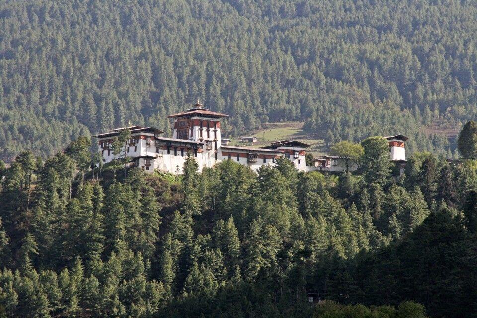 Dzong in Bumthang