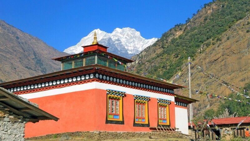 Kloster im Rolwaling-Tal © Diamir