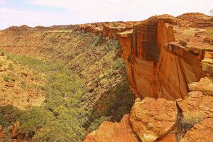Kings Canyon im Watarrka-Nationalpark, NT