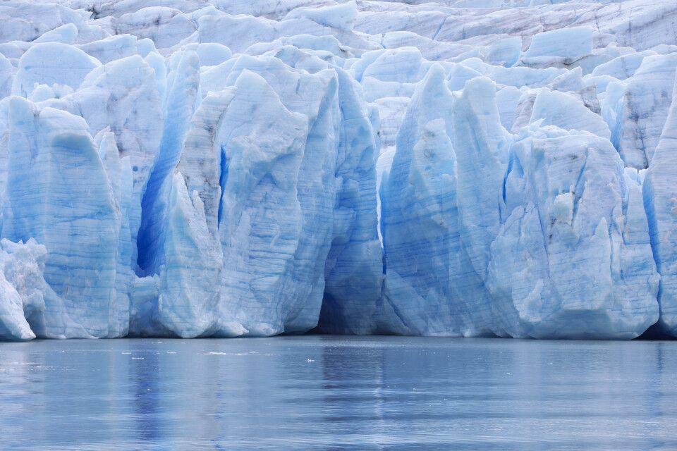 Grey-Gletscher im Nationalpark Torres del Paine