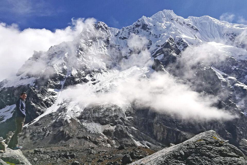 Geschafft! Der Salcantay Pass auf 4600m