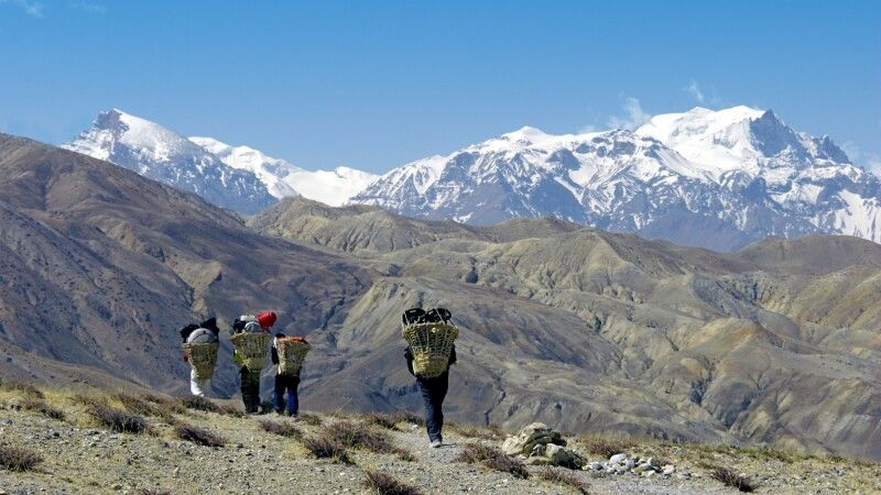 Panoramaweg nach Tangge © Diamir