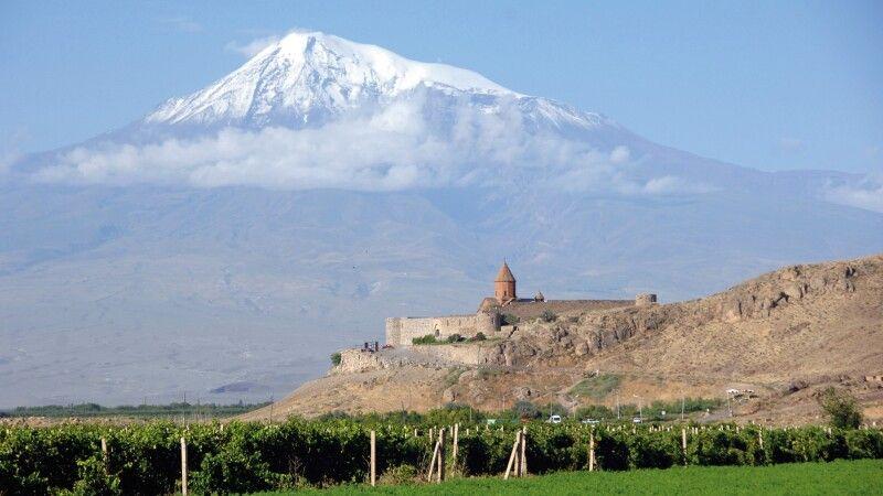 Kloster Khor Virap und Ararat © Diamir