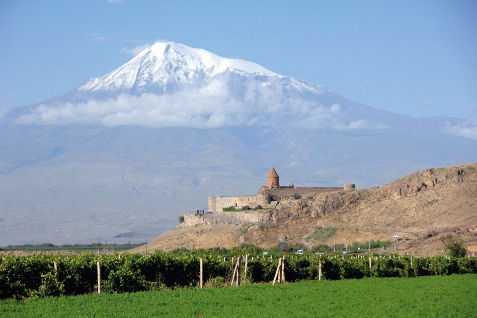 Kloster Khor Virap und Ararat
