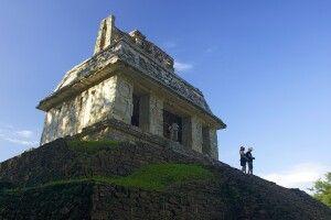 Archäologische Stätte von Palenque, Chiapas, Mexiko