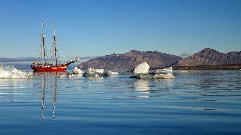 Die Noorderlicht in Spitzbergen © Diamir